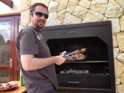 Rob and the braai